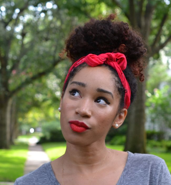 The Big Easy Natural Hair Bun In Under 2 Minutes Naturallycurly