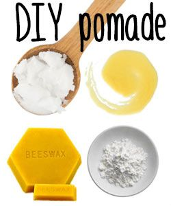 DIY Whipped Styling Pomade