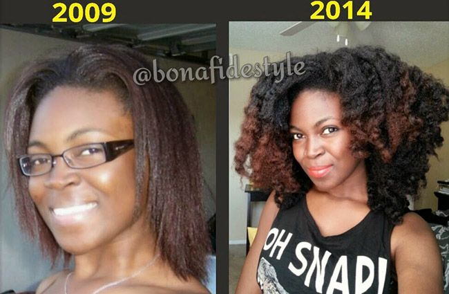 Years Natural Hair Growth Journey
