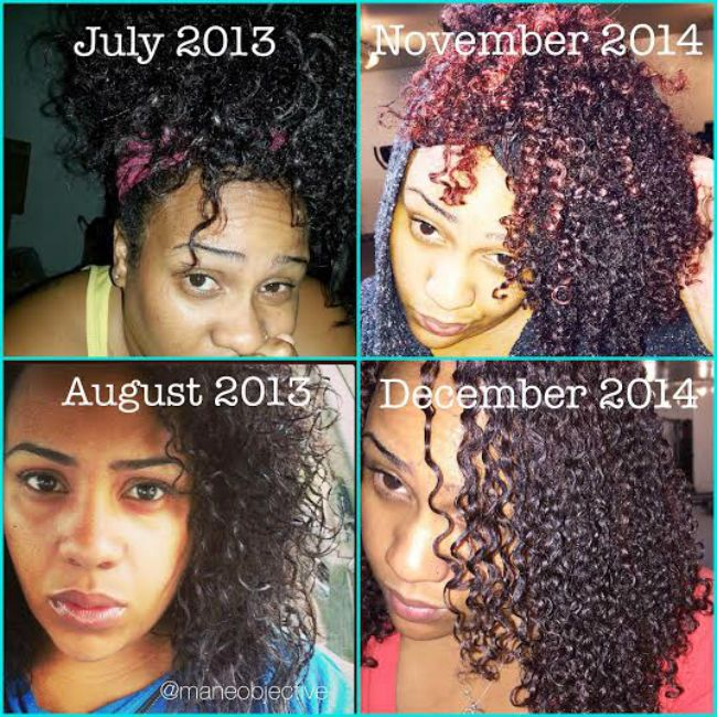 natural hair transitioning collage