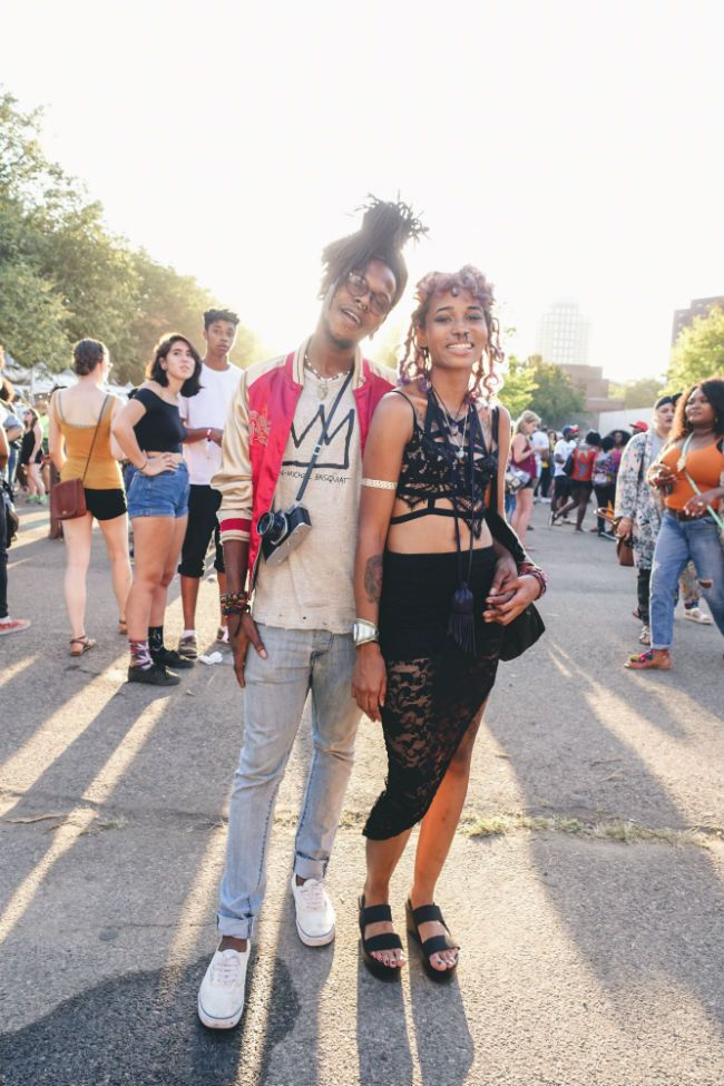 friends at Afropunk Fest
