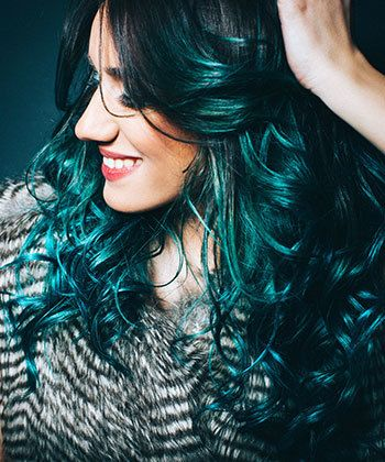 Contemporary Curls: Bigen Delivers Color to Curls in a Major Way