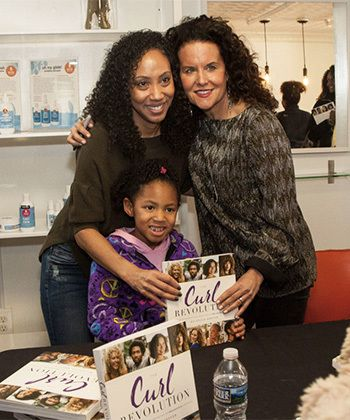 Longtime Relationships and New Curl Friends Converge in Baltimore for the Curl Revolution Book Tour