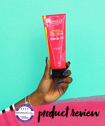 I Tried Mielle Organics Brazilian Curl Cream On My 4A Hair...