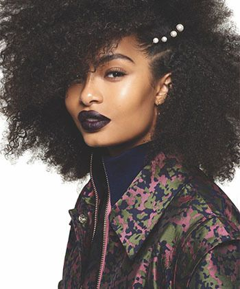 13 Fierce Natural Hairstyles We Loved in 2017