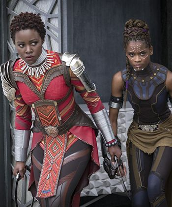 THIS Is Why The Set of 'Black Panther' Chose to Embrace Natural Hair