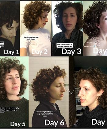 I Went a Week Without Hair Styling Product, Here's What Happened