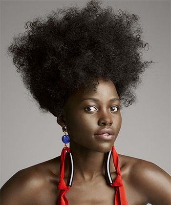 "Lupita Nyong'o Graced The Cover of Allures ""The Culture of Hair"" Issue"