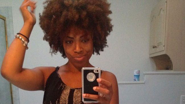natural hair wash n go detangling