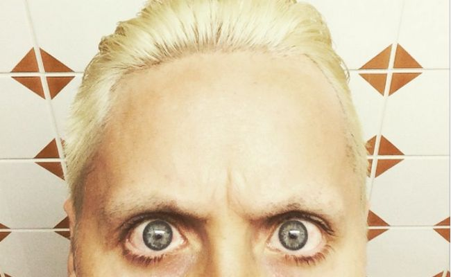 jared leto platinum hair