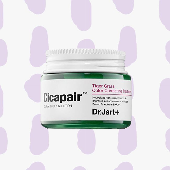 bottle of cicapair derma green solution