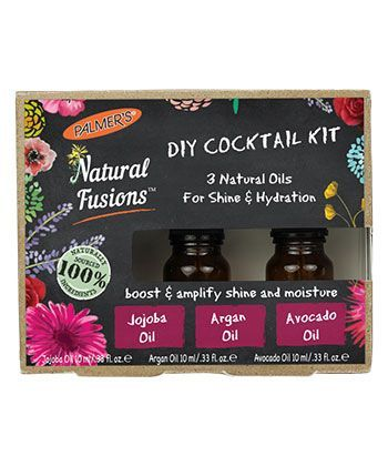 Palmer's Natural Fusions Shine & Hydration DIY Cocktail Kit