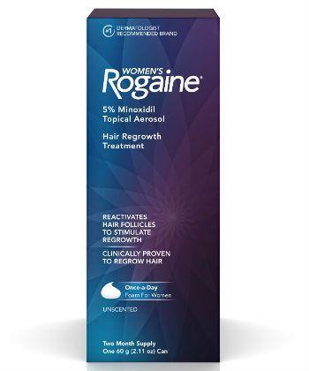 Rogaine Women's Rogaine 5% Minoxidil Foam