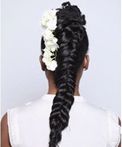 3 EASY Natural Hair Wedding Styles