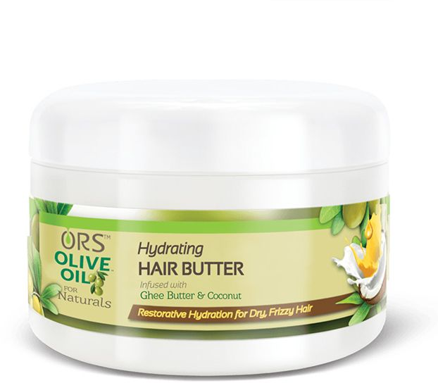 ORS Olive Oil for Naturals hydrating hair butter infused with ghee butter and coconut