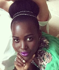 Would You Wear a #Fronut? Lupita Nyong'o Does