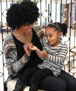 How I Teach My Daughter to Love Her Natural Hair More Than I Did