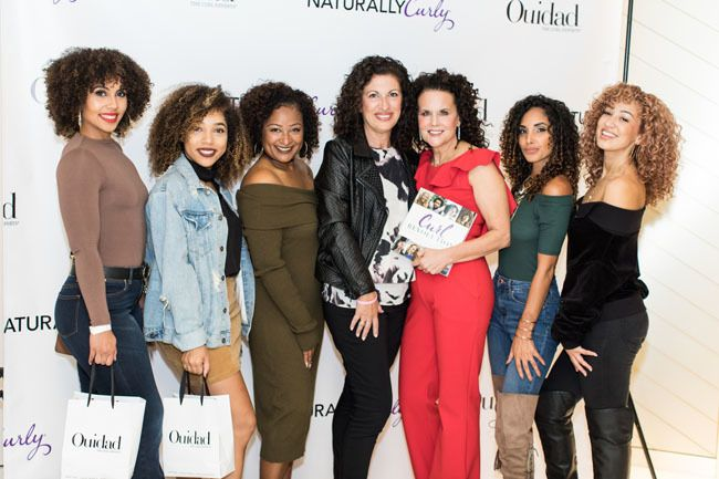 group photo of women at the curl revolution