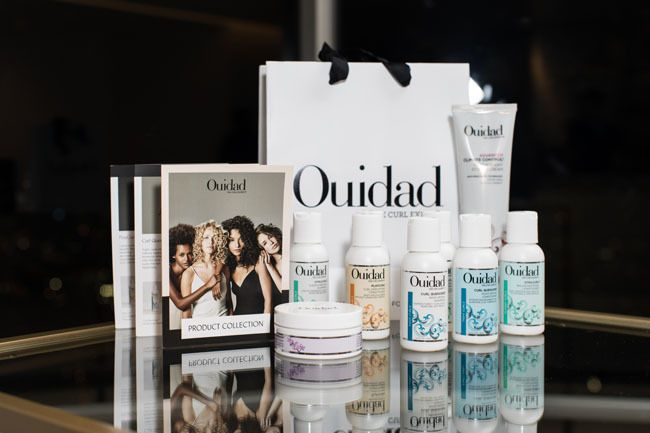 ouidad gift bag and products