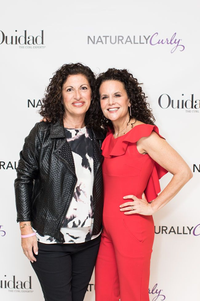 ouidad and michelle breyer at the curl revolution book tour