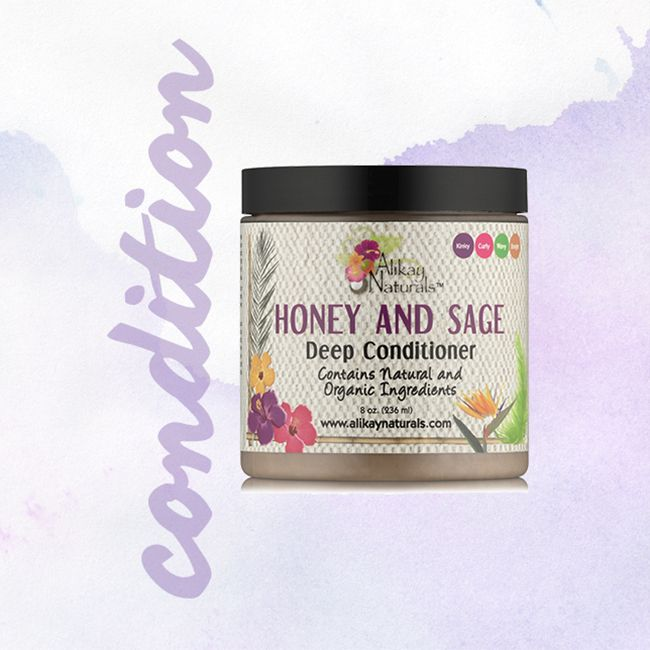 alikay naturals honey sage deep conditioner