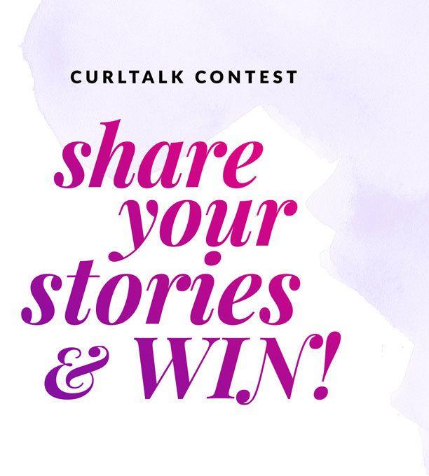 curltalk contest flyer