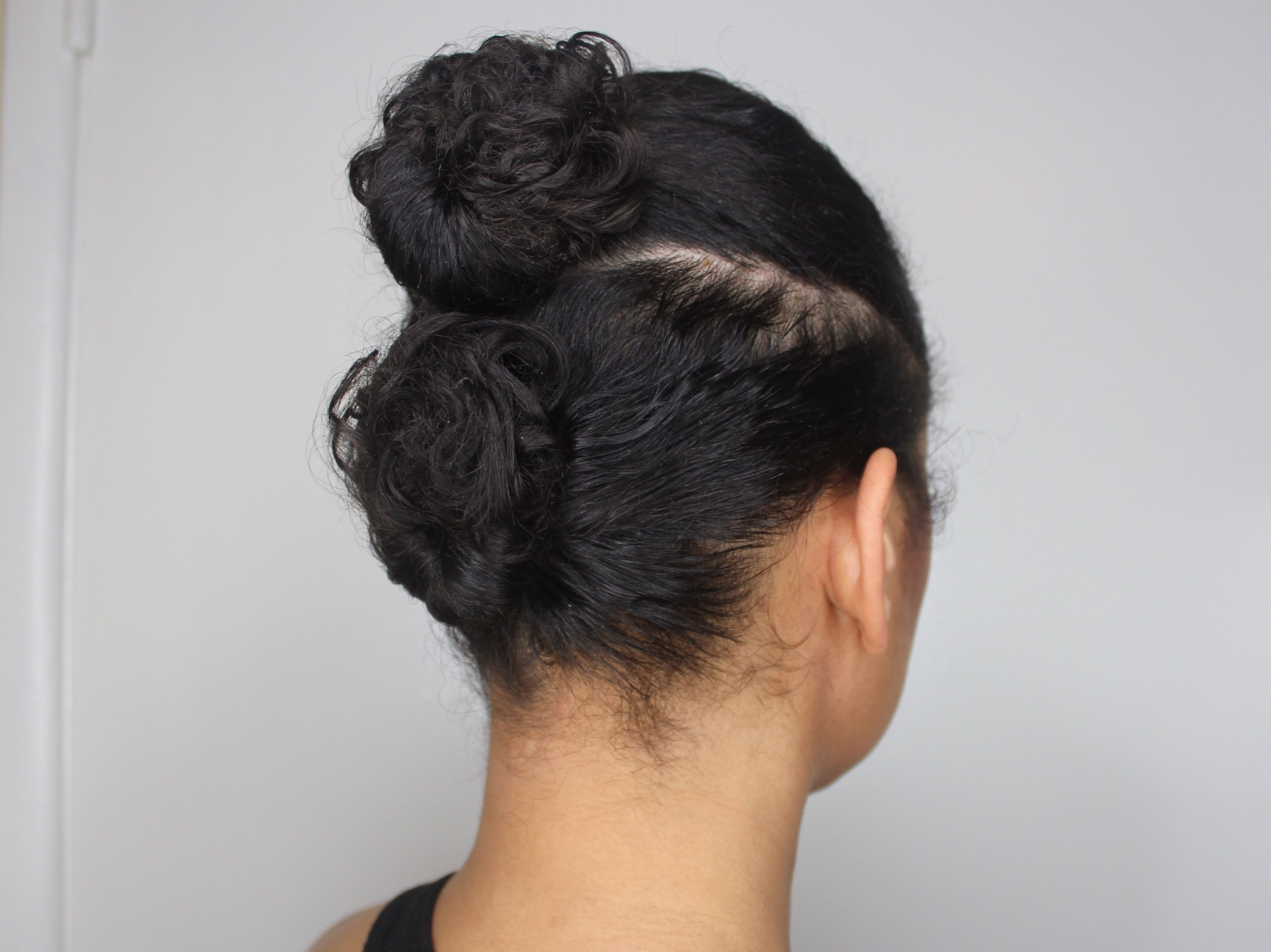 Easy Curly Updo for Busy Moms
