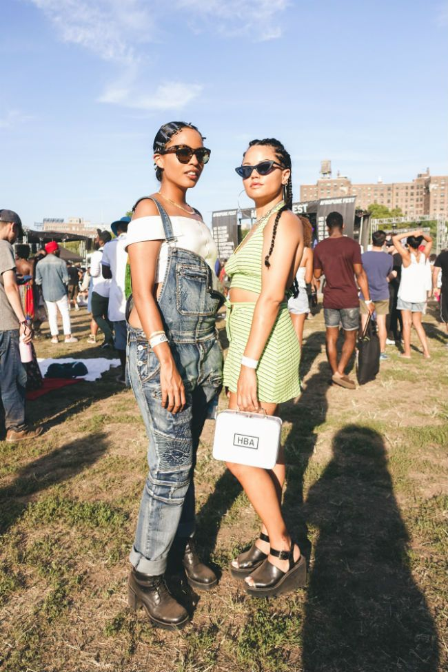 hairstyles at Afropunk Fest