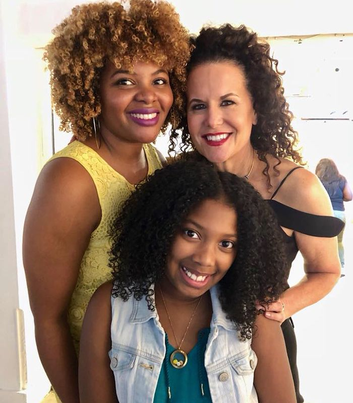 2 new curlfriends in Miami at Quintessential Naturals