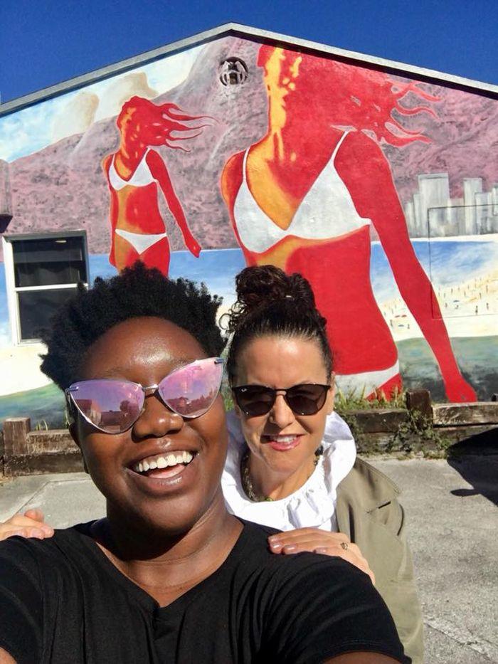 Evelyn & I in Miami