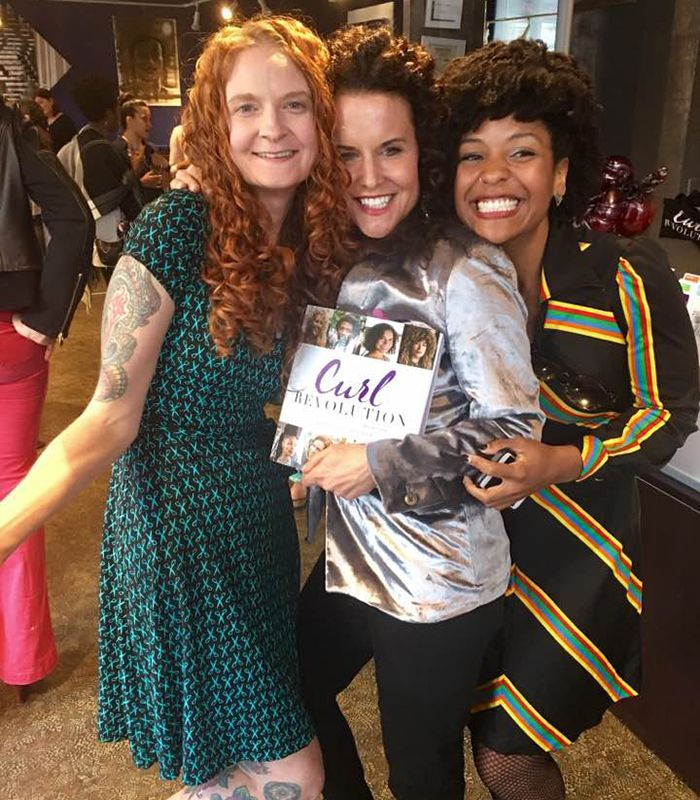 Friends Jess McGuinty from Jessicurl and Cassidy Blackwell in SF