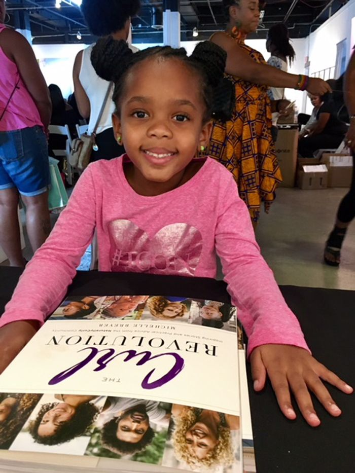 Young attendee in Miami