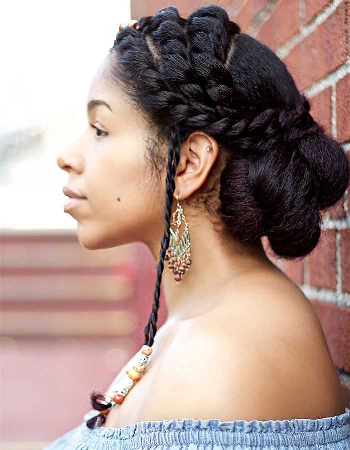 Braided and Twisted Updo