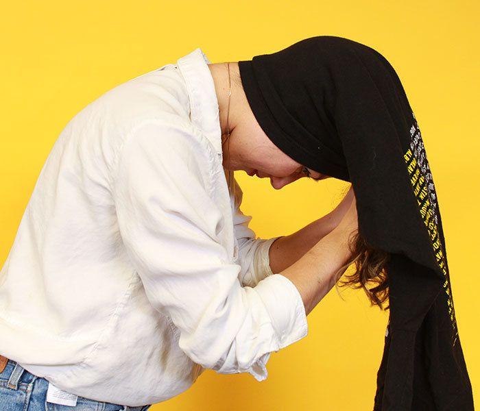 tie turban