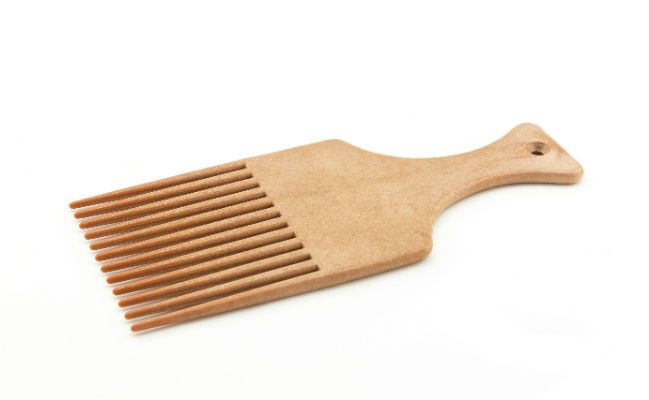wooden afro pik
