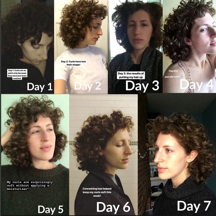 I Went A Week Without Hair Styling Product Here S What Happened Naturallycurly Com