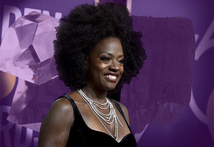 Viola Davis at the Golden Globes