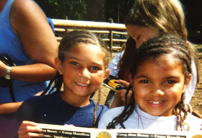 Kid me with cornrows