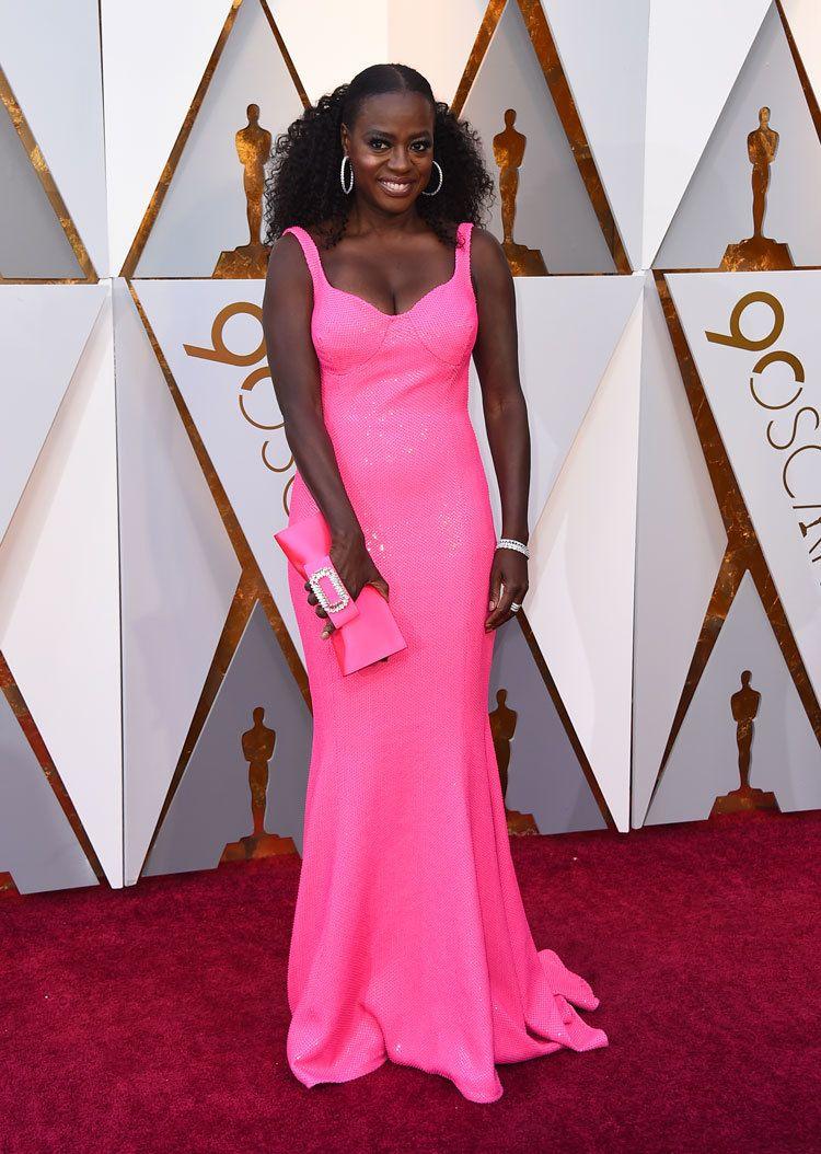 Viola Davis at the Oscars 2018