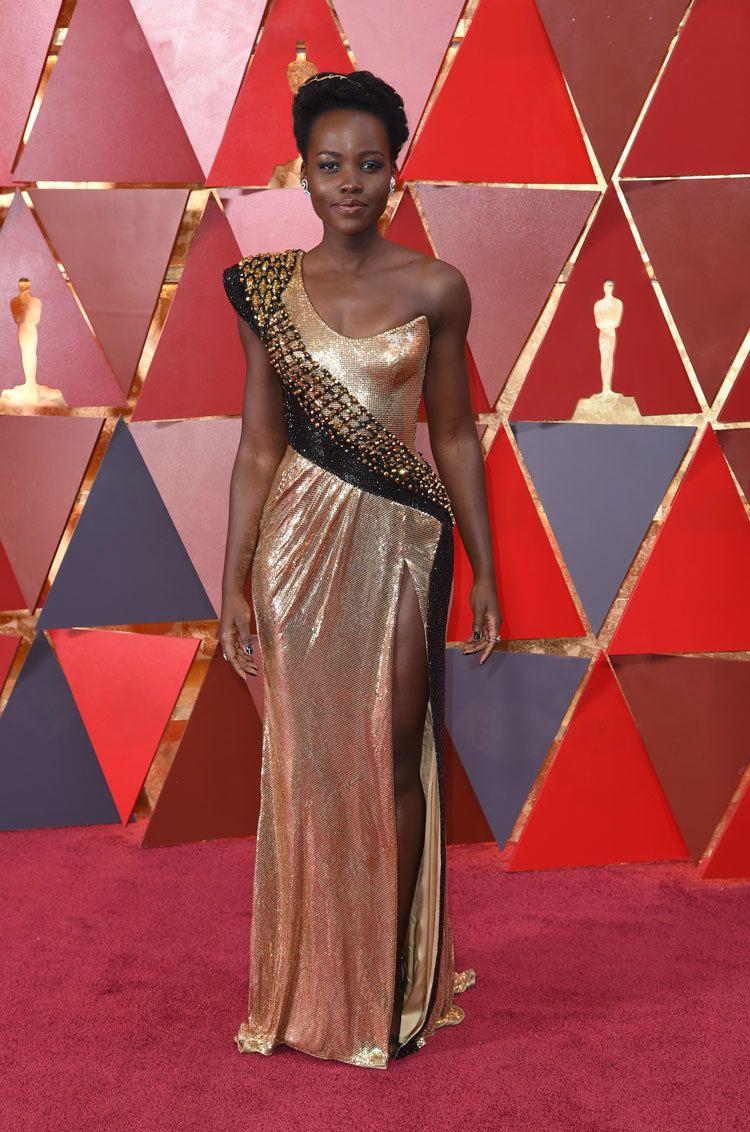 Lupita Nyongo at the Oscars 2018
