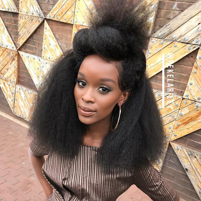 south african beauty natural hair