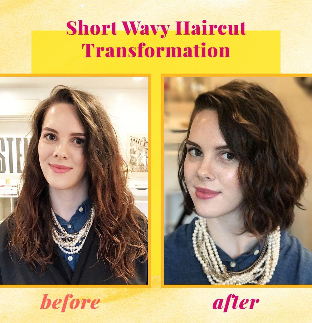 grace's wavy bob haircut transformation | naturallycurly