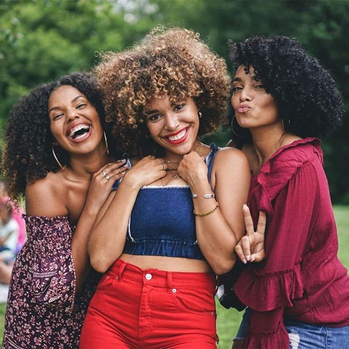 Curly Girl Picnic