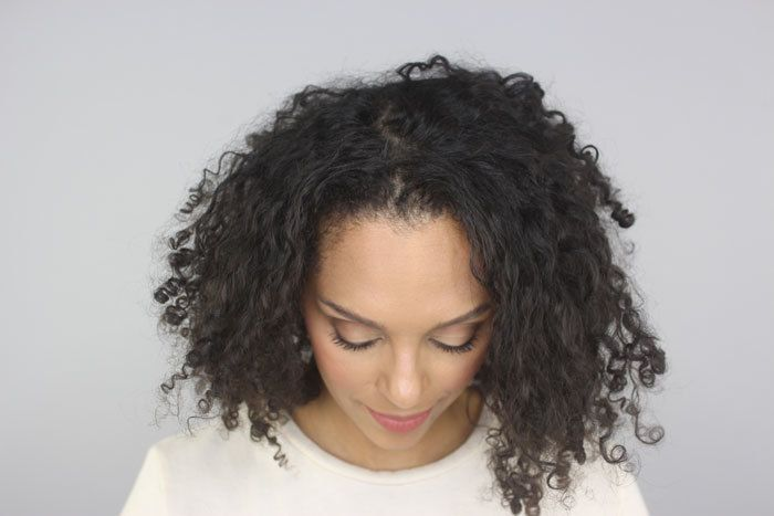 postpartum curly hair