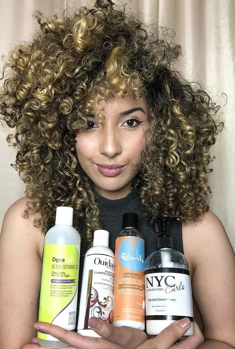 CurlyMindy her favourite hair care products