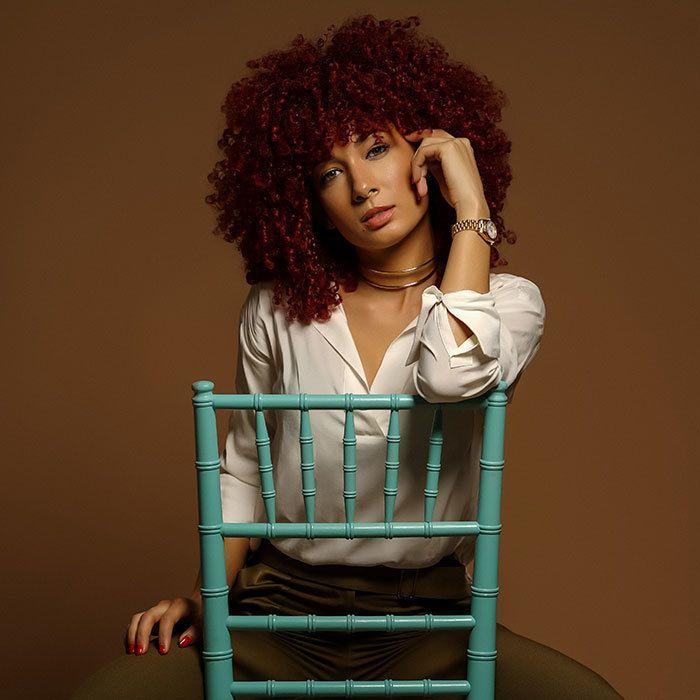 kayla madonna curly hair