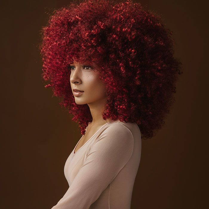 kayla madonna big curly hair