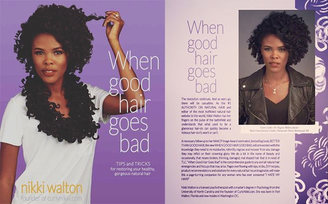 CurlyNikki book When Good Hair Goes Bad