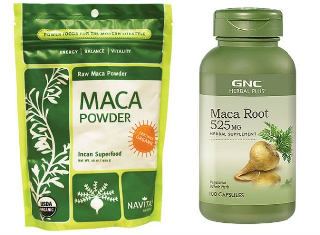 maca root powder for hair