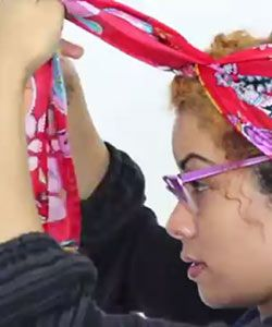 Watch: 3 Ways to Tie a Scarf